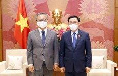 Le président de l'AN reçoit l'ambassadeur du Japon