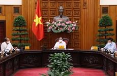 Le Premier ministre préside une réunion sur la lutte contre le COVID-19