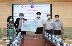 COVID-19 : l'hôpital FV fait don d'équipements et de machines