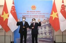 Le Vietnam et Singapour se préparent à un accord bilatéral sur l'économie numérique