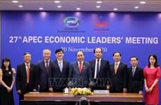 """La présence du président à l'APEC 2021 revêt une """"grande importance"""""""