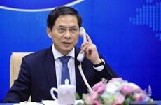Vietnam-France : conversation téléphonique entre les deux ministres des AE