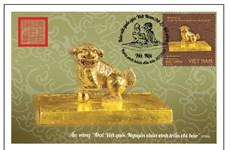 Quatre trésors nationaux en or du Vietnam auront leurs timbres