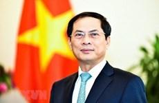 Le chef de la diplomatie chinoise félicite le ministre des Affaires étrangères Bui Thanh Son