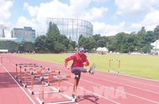 Jeux olympiques de Tokyo 2020 : l'athlète Quach Thi Lan entre en demi-finale du 400 m haies femmes