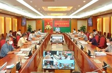 La Commission centrale de contrôle du Parti annonce les conclusions de sa 5e réunion