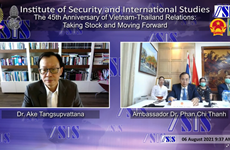 Webinaire sur les relations Vietnam-Thaïlande à Bangkok
