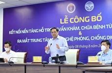 Le Vietnam lance la Télésanté et le Centre technologique de contrôle du Covid-19