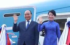Le président Nguyen Xuan Phuc termine sa visite d'amitié officielle au Laos