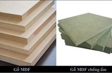 L'Inde n'impose pas des droits antidumping sur les panneaux de MDF vietnamiens