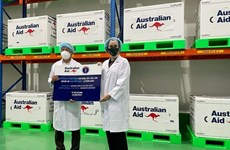 Le Vietnam reçoit 403.000 doses de vaccin anti-Covid-19 offertes par l'Australie