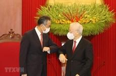 Le leader du PCV reçoit le ministre chinois des Affaires étrangères