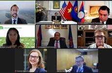 """Le Vietnam à un webinaire sur les résultats du """"Mekong-US Partnership Track 1.5 Policy Dialogue"""""""