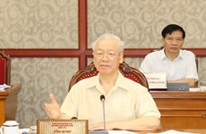 Le Bureau politique travaille sur la situation socio-économique