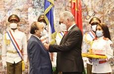Le Vietnam et Cuba publient une déclaration commune
