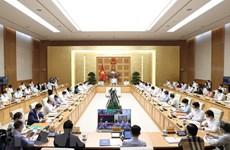 Le gouvernement va discuter des mesures de soutien économiques