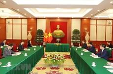 Vietnam-Chine : les leaders Nguyên Phu Trong et Xi Jinping s'entretiennent au téléphone
