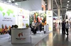 Produits vietnamiens présentés au salon de l'alimentation en Russie