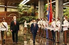 Voyage du président vietnamien  à Cuba et aux  États-Unis - grand succès de la diplomatie vaccinale