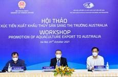 Le Vietnam a des opportunités pour les exportations de produits aquatiques l'Australie