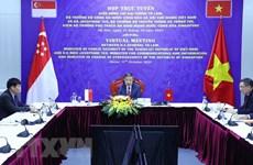 Le Vietnam et Singapour discutent du renforcement des liens en matière de cybersécurité