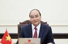 Le président souhaite un soutien continu des États-Unis dans la lutte contre la pandémie