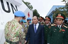 Le président loue les contributeurs au maintien de la paix de l'ONU