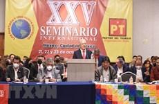 Des partis politiques présents au séminaire au Mexique apprécient le message du leader du PCV