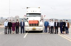 COVID-19 : le Guangxi (Chine) accorde des dons à des localités vietnamiennes