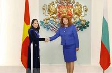 La vice-présidente Vo Thi Anh Xuan en visite officielle en Bulgarie