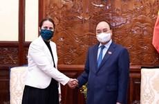 Le président Nguyen Xuan Phuc reçoit l'ambassadeur de Nouvelle-Zélande