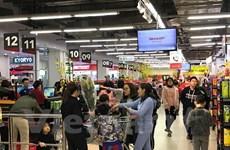 Les entreprises étrangères misent sur le potentiel du marché de la vente au détail