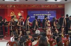 Dak Lak: quand la passion du gong est transmise aux étudiants
