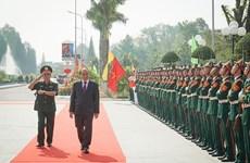 Le PM travaille au Collège de formation des officiers de l'armée 2
