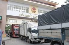 Les efforts se poursuivent pour relancer les exportations vers la Chine
