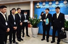 Ces hommes qui viennent rapatrier des Vietnamiens de l'épicentre du coronavirus