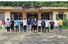 Quinze arrestations pour entrée illégale au Vietnam