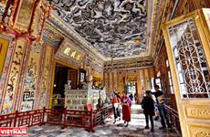 Mausolée de Khai Dinh, un chef d'œuvre de l'art de la mosaïque de porcelaine