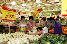 Hanoi : hausse des prix à la consommation
