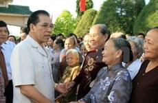 Le leader du Parti en tournée à Ba Ria-Vung Tau