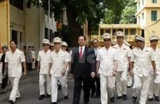 Les forces de sécurité doivent être fidèles au Parti et à l'Etat