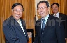 Pham Gia Khiem reçoit un vice-ministre chinois des AE