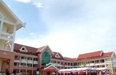Laos : inauguration d'un lycée - don du Vietnam
