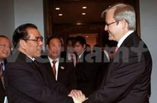 Vietnam et Australie pour être partenaires intégraux