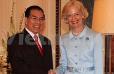 Le leader du PCV rencontre le gouverneur général d'Australie