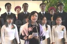 UNESCO : Réception en l'honneur de Hanoi à Paris