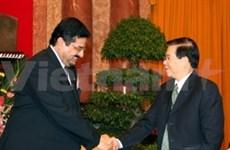 Le président reçoit le ministre koweitien du Pétrole