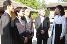 Des journalistes vietnamiens en visite en RPD de Corée