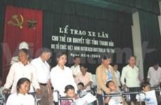 Vietnam Outreach au chevet des enfants handicapés