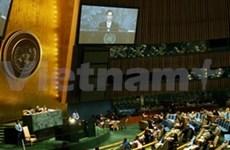 Nguyên Minh Triêt à l'Assemblée générale de l'ONU